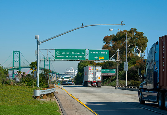 Port of Long Beach ATMIS Phase VI & Vehicle Detection Stations & Travel Time Management Systems